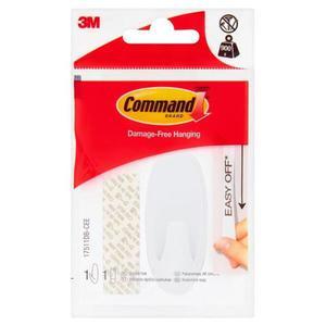Hak wielokrotnego użytku COMMAND Basic (17511DB-CEE HAK), z metalowym uchwytem, średni, biały - 2881308541