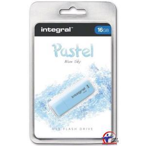 Pamięć USB INTEGRAL 16GB 2.0 Pastel Blue Sky INFD16GBPASBLS - 2881308607