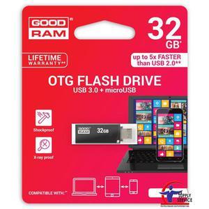 Pamięć USB GOODRAM 32GB USB 3.0 czarny OTN3 OTN3-0320K0R11 - 2881308622
