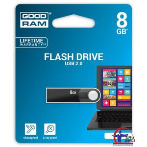 Pamięć USB GOODRAM 8GB USB 2.0 czarny URA2 URA2-0080K0R11 - 2881308639
