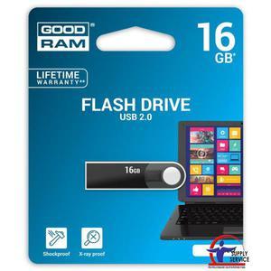 Pamięć USB GOODRAM 16GB USB 2.0 czarny URA2 URA2-0160K0R11 - 2881308640