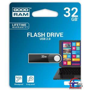 Pamięć USB GOODRAM 32GB USB 2.0 czarny URA2 URA2-0320K0R11 - 2881308641