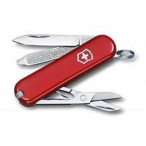 Scyzoryk VICTORINOX Classic SD, celidor, 58mm, czerwony - 2881308748