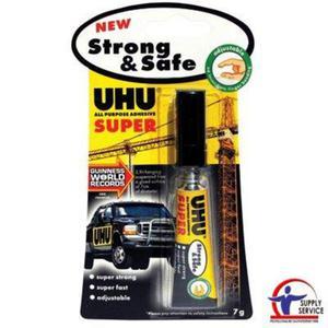 Klej błyskawiczny UHU STRONG SAFE 7g - 2881308767