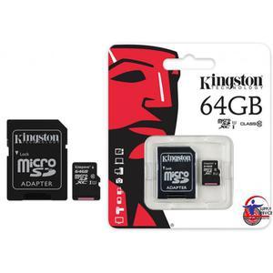 Pamięć MicroSD KINGSTON 64GB MicroSDHC CL10 SDC10G264GB - 2881308940