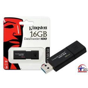 Pamięć USB KINGSTON 16GB 3.0 DT100G316GB - 2881308946