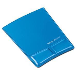 Podkładka pod mysz FELLOWES Health-V - niebieska - 2881748020