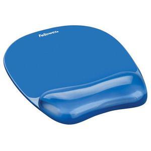Podkładka pod mysz FELLOWES Cristal - niebieska - 2881748025