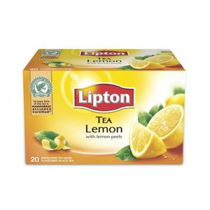 Herbata eksp. LIPTON TEA CYTRYNA op.20 czarna - 2881748447