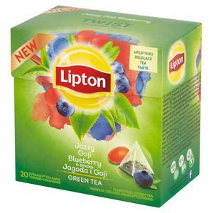 Herbata eksp. LIPTON piramidka Jagoda i Owoce Goji op.20