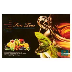Herbata eksp. DILMAH Celebr. Fun Teas 80 kopert - 2881748470