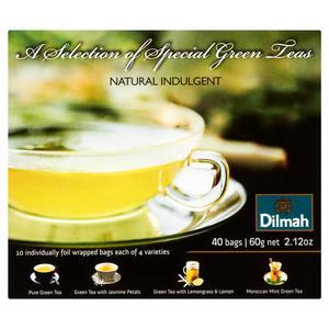 Herbata eksp. DILMAH Green Tea Selection op.40 - 2881748471
