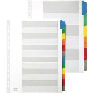 Przekładki ELBA A4 6 kolorów - 2881748486