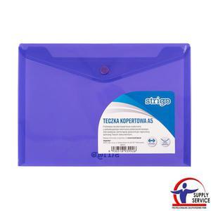 Teczka kopertowa STRIGO A5 pozioma fiolet SF011 - 2881748612