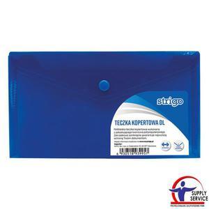 Teczka kopertowa STRIGO DL niebieska SF014 - 2881748615