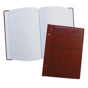Kronika WARTA 345x255 skóropodobna brązowa 1829-319-038 - 2883643826