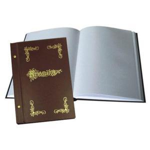 Kronika WARTA 250x345 pionowa malowana brązowa - 2883643827