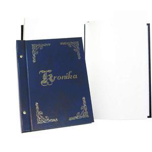 Kronika WARTA A3 310x420 pion.granat złoc. 319-078 - 2883643833