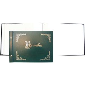 Kronika WARTA 345x255 pozioma zielo. 319-032 złocona - 2883643837