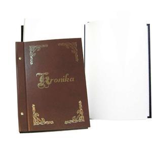 Kronika WARTA A4 250x345 pionowa brąz 319-025 - 2883643840