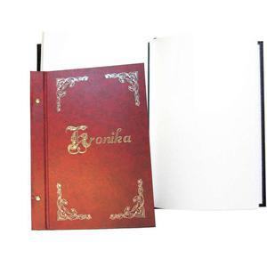 Kronika WARTA A4 250x345 pionowa bordo 319-026 - 2883643841