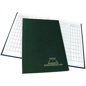 Książka koresp. WARTA 192k - zielona - 2883643871