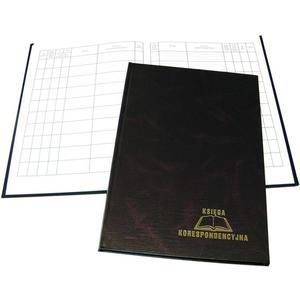 Książka koresp. WARTA 192k - brązowa - 2883643872