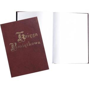 Księga Pamiątkowa WARTA 100k złocona mix kolorów - 2883643877