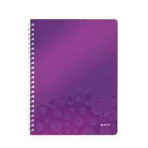 Kołonotatnik LEITZ WOW A4 - fiolet 46380062 - 2883643889