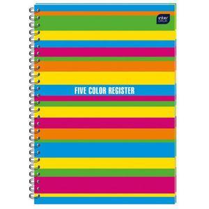 Kołonotatnik INTERDRUK B5 160k. kolor. margines - 2883643980