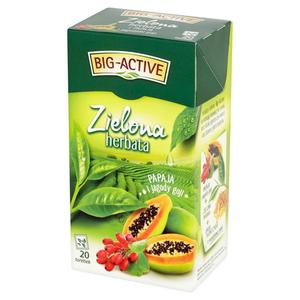 Herbata eksp. BIG ACTIVE ziel. papaja j.goji 20t.