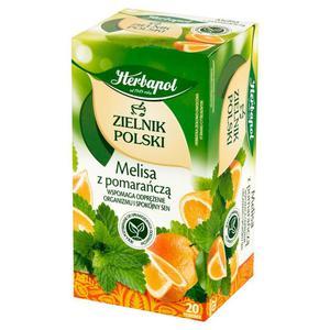 Herbata eksp. HERBAPOL Zielnik - Melisa pomarańcz - 2883644027