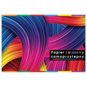 Zeszyt papierów kolorowych INTERDRUK samop. B5 - 2883644327