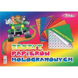 Zeszyt papierów ALIGA B4 hologramowy ZH-2092 - 2883644330