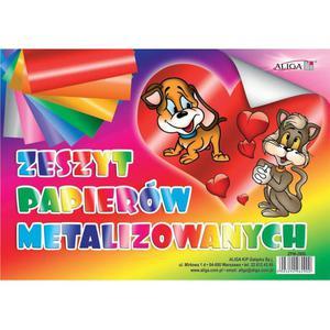 Zeszyt papierów ALIGA B5 metalic ZPM-2900 - 2883644332