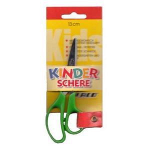 Nożyczki LACO 13cm ostra końcówka zielone - 2883644478
