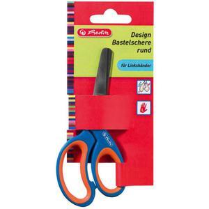Nożyczki HERLITZ dla leworęcznych okrągłe - 2883644499
