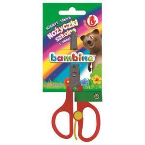 Nożyczki BAMBINO szkolne dla leworęcznych - 2883644519