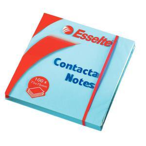 Karteczki samop. ESSELTE 76x76 niebieskie 83022 - 2883644549