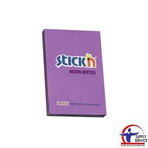 Karteczki samop. STICK'N 76x51mm 100k. Neon - fiolet - 2883644567