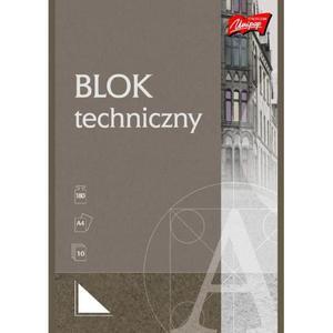 Blok techniczny UNIPAP A4 10k. biały - 2883644611