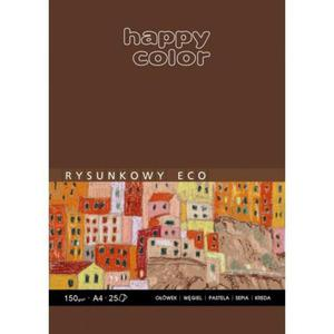 Blok rysunkowy HAPPY COLOR ECO A4 A4 80k. 80g. - 2883644633