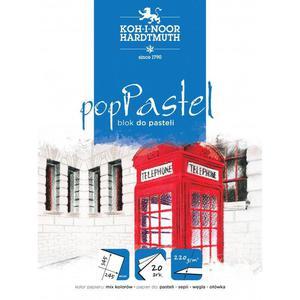 Blok do pasteli KOH-I-NOOR pop pastel 245x345 220g. BLO-PA245B - 2883644660