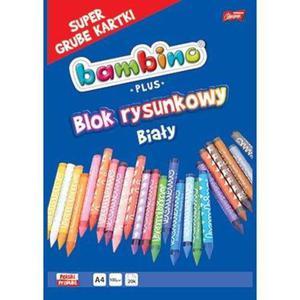 Blok rysunkowy BAMBINO PLUS A3 20k. Grube kartki - biały - 2883644694