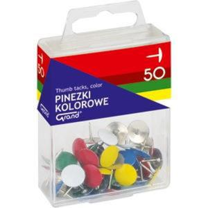 Pinezki GRAND op. plastik 50szt. kolor 110-1115 - 2883644765