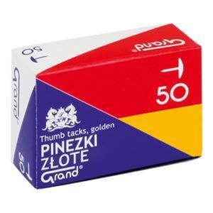 Pinezki GRAND złota G50 OPAKOWANIE x op10 110-1377 - 2883644773