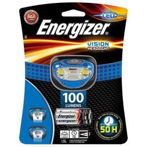 Latarka czołowa ENERGIZER Headlight Vision + 3szt. baterii AAA niebieska - 2883644846