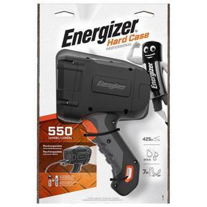 Latarka ENERGIZER Hard Case Led recharchable czarna - 2883644856