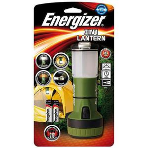Latarka ENERGIZER Lantern 3w1 + 4szt. baterii AA zielona - 2883644858