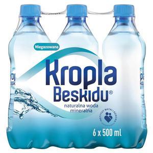 Woda KROPLA BESKIDU op.12 0,5l. niegazowana - 2883644909